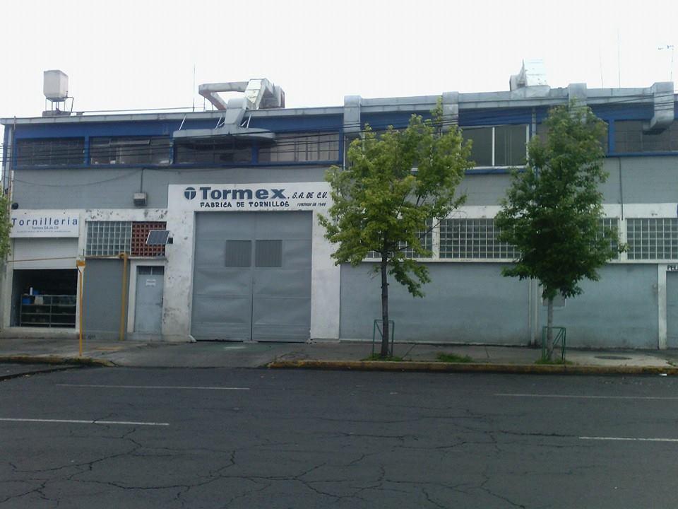 Fachada fabrica-de-tornillos-tormex
