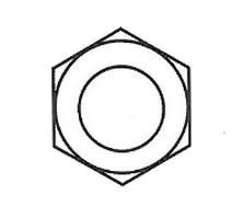 tuerca hexagonal